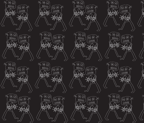 Klaatu barada nikto fabric by nalo_hopkinson on Spoonflower - custom fabric