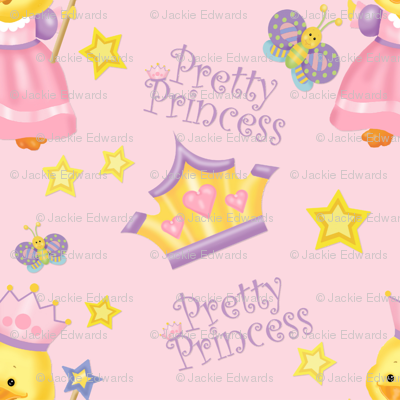 Pretty Princess Duckling Pink