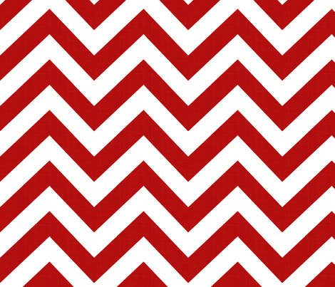 chevrons_red fabric by holli_zollinger on Spoonflower - custom fabric