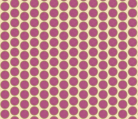 mod_circle_eggplant fabric by holli_zollinger on Spoonflower - custom fabric