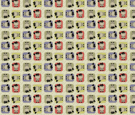 © 2011 KIT T KATS fabric by glimmericks on Spoonflower - custom fabric
