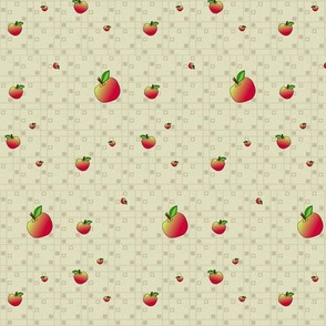 © 2011 An Apple a Day - Companion Apple Fabric