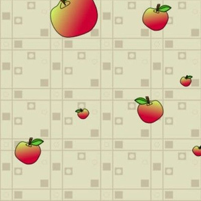 © 2011 An Apple a Day - Companion Apple Fabric-large