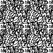 scribble black small