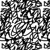 scribble black