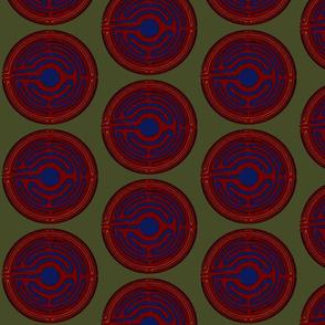 Asian Coin Garnet