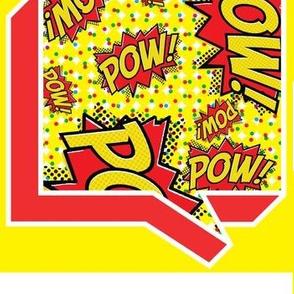 Comic In Blurb - Pow