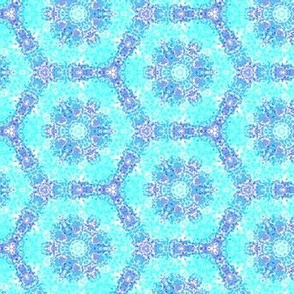 blue on blue pattern