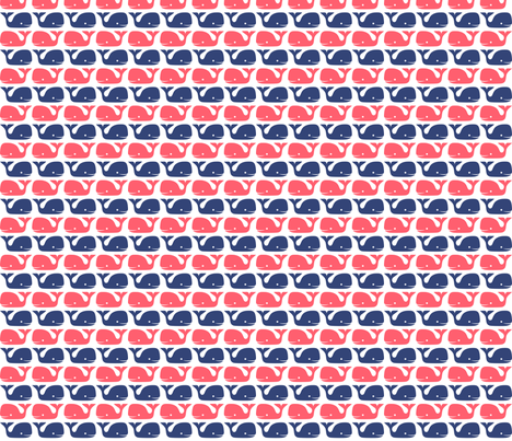 blueandredforspoonflower fabric by raehoekstra on Spoonflower - custom fabric