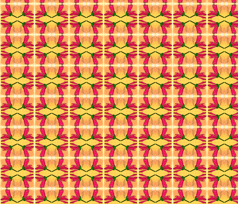 malvasylvestris mirrored part fabric by mimi&me on Spoonflower - custom fabric