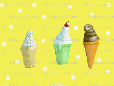 Ice Cream Cones Make me Happy!