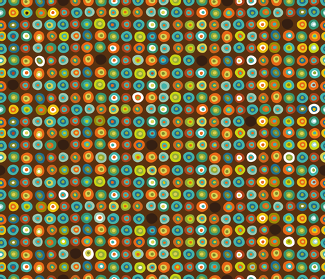 Bouncy Beach Balls fabric by cynthiafrenette on Spoonflower - custom fabric
