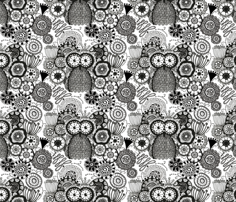 In the Night Garden fabric by meg56003 on Spoonflower - custom fabric