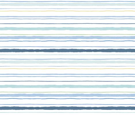 painted_sailor_stripe fabric by nicoletamarin on Spoonflower - custom fabric