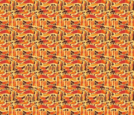 KAMIKOI fabric by kipuruki on Spoonflower - custom fabric