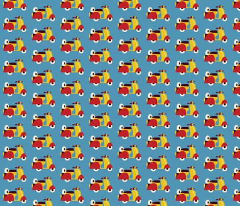 Circus fun for little one! - Scooter fabric by bora on Spoonflower - custom fabric