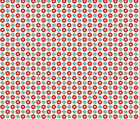 Circus fun for little one! - Dots White fabric by bora on Spoonflower - custom fabric