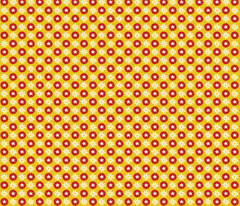 Circus fun for little one! - Dots Yellow fabric by bora on Spoonflower - custom fabric