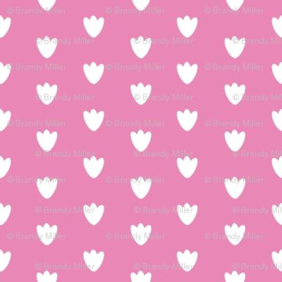 Light Pink Blossom Dots