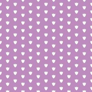 Lavender Blossom Dots