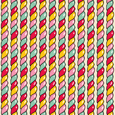 Twisted Candy fabric by shirayukin on Spoonflower - custom fabric