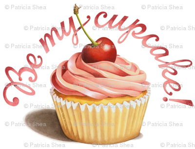 """Be My Cupcake"" by Patricia Shea"
