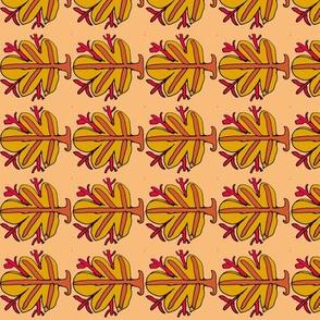 Orange Fig Leaf