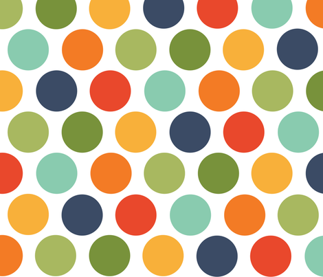 Baby_Boy_Dots fabric by creativitybycrystal on Spoonflower - custom fabric