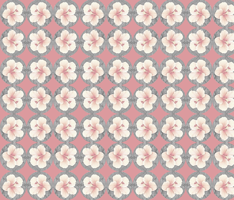 Hibiscus Beauty fabric by robin_rice on Spoonflower - custom fabric