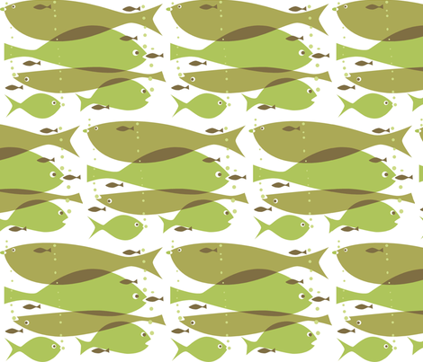 1_fish_2_fish fabric by antoniamanda on Spoonflower - custom fabric