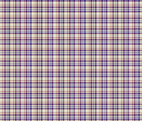 Purple and Yellow Plaid fabric by mag-o on Spoonflower - custom fabric