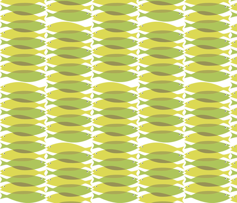 sardinegreen fabric by antoniamanda on Spoonflower - custom fabric