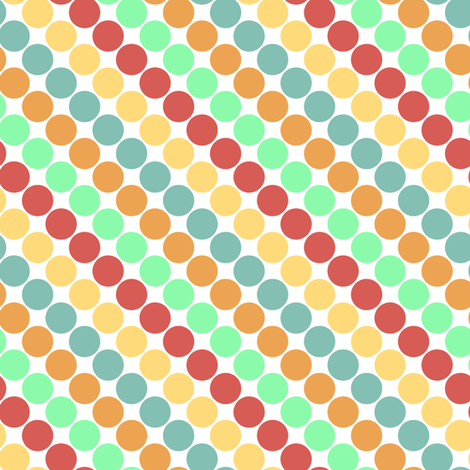 dots fabric by mrshervi on Spoonflower - custom fabric