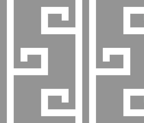 Mykonos in marble fabric by domesticate on Spoonflower - custom fabric