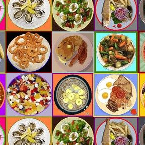 Plates of Food medium