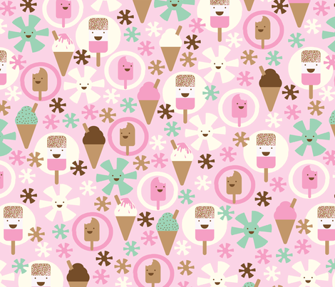 ice, ice baby! fabric by mondaland on Spoonflower - custom fabric