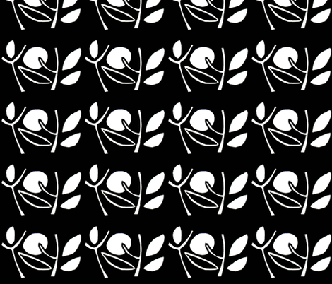 DSC00259-Moon and Leaves fabric by josephinefletcher on Spoonflower - custom fabric