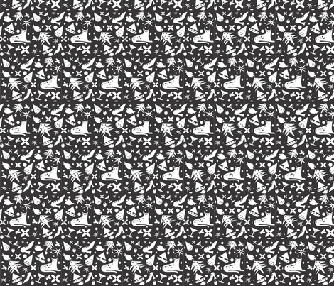 black and white  fabric by baby_cakes on Spoonflower - custom fabric