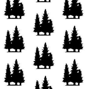 Pine Tree Trio
