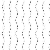 crazy garden ants stripe (please zoom)