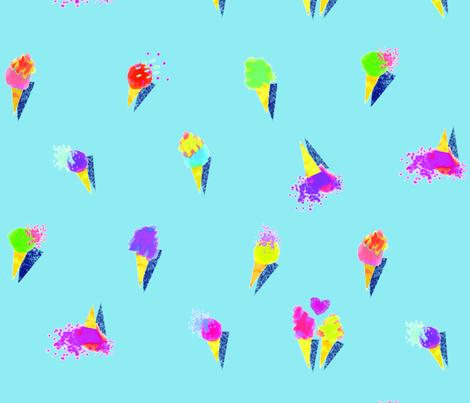 fuzzy gelati fabric by wilgean on Spoonflower - custom fabric