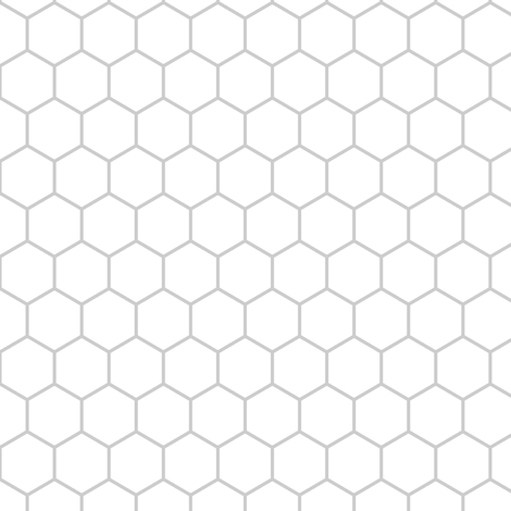 inch hex (vertex) fabric by sef on Spoonflower - custom fabric