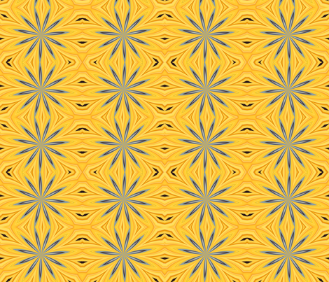 Sunburst fabric by natbrynkids on Spoonflower - custom fabric