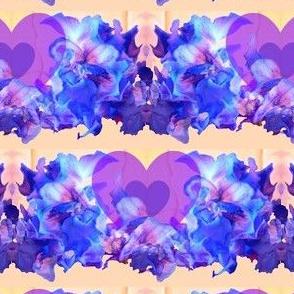 Delphinium Hearts