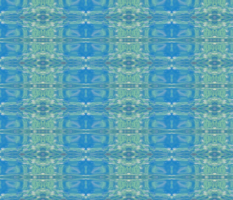 Surfer Ikat Plaid fabric by susaninparis on Spoonflower - custom fabric