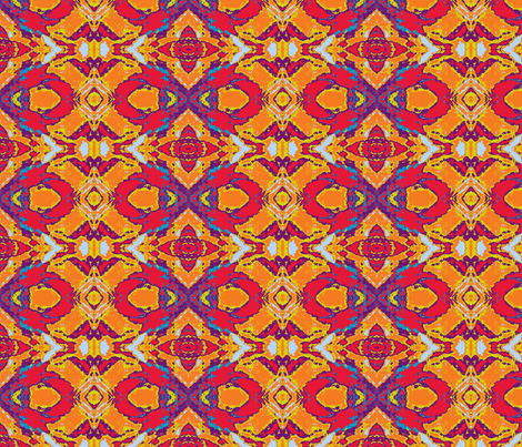 Fire Cracker fabric by susaninparis on Spoonflower - custom fabric
