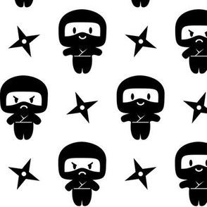 Happy Grumpy Ninjas