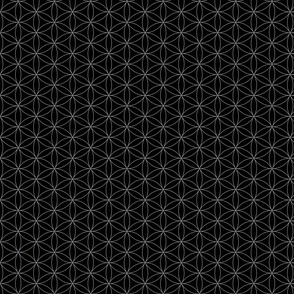 Flower Of Life Pattern-gray
