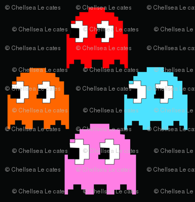 Pacman Game Pixels