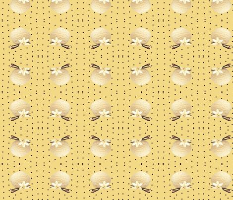 vanilla fabric by raasma on Spoonflower - custom fabric
